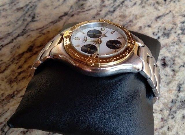 Relógio Longines Gran Tour L3.614.4 Masculino - Original - Foto 5