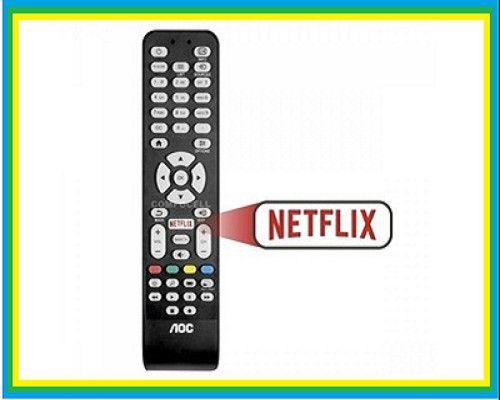 Controle Remoto Smart Para Tv Aoc Le-7463 C/tecla