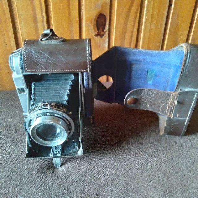 Câmera Fotográfica de Fole Alemã Franka Solida III. Antiga Zona US 1951 VER anúncio  - Foto 6