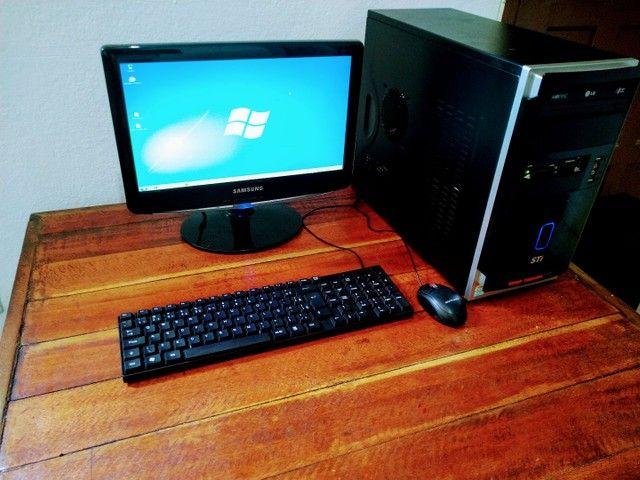 Computador Completo em Ótimo Estado com Garantia- 6x Sem Juros! (Entrego) - Foto 2