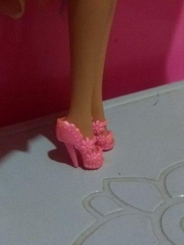 Pacotinho de Sapatinhos pra bonecas Barbie - Foto 2