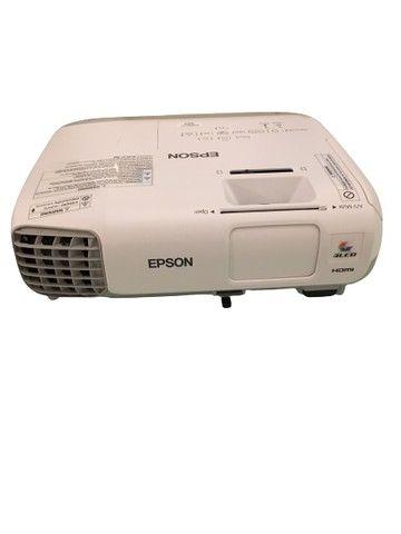 Projetor Epson PowerLite S27 - Modelo: H694A - Equipamento usado - Perfeito funcionamento - Foto 2