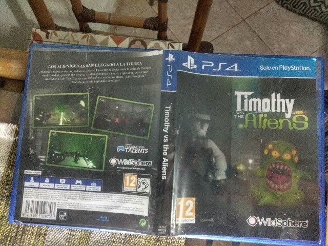 Jogo PS4 Timothy vs the Aliens - Foto 3