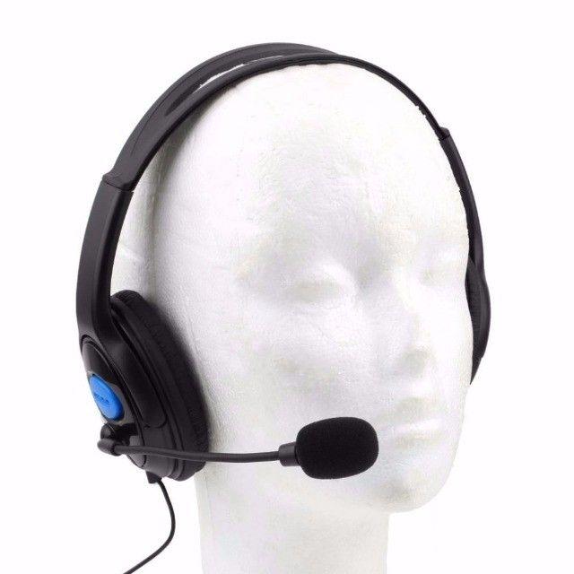 Fone Headset Gamer Microfone Xbox One Pc Playstation 4 Mobile Novo Garantia - Foto 5