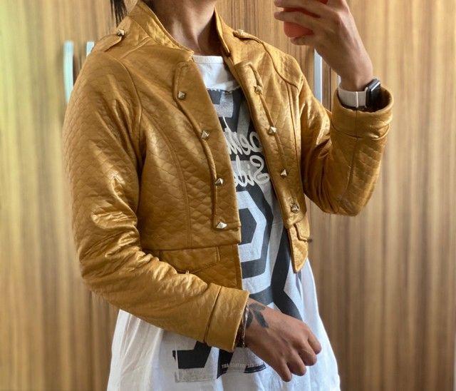 Jaqueta Dourada - Foto 2