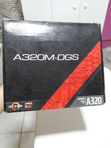 Placa mãe AMD A320M (Defeituosa) - Foto 6