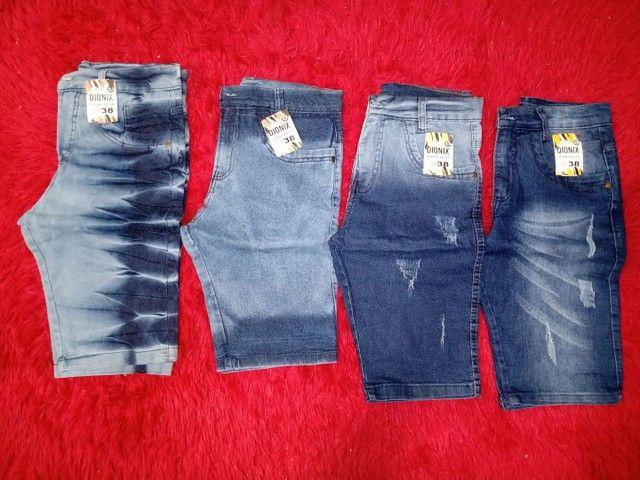 Bermuda jeans atacado - Foto 6