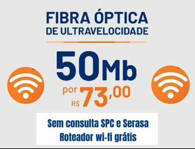 Internet 100% fibra óptica é Brisanet  - Foto 3