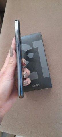 Samsung S21 preto 128 Gb +8gb