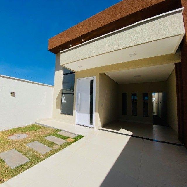 Casa 03 Quartos, 01 Ste, Área de Churrasco - Parque das Flores