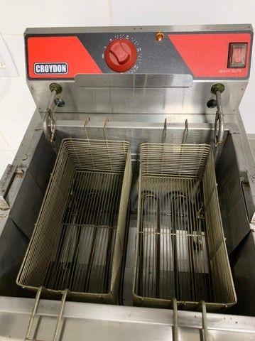 Fritadeira Elétrica 15 L litros Croydon Água e Óleo - Nova