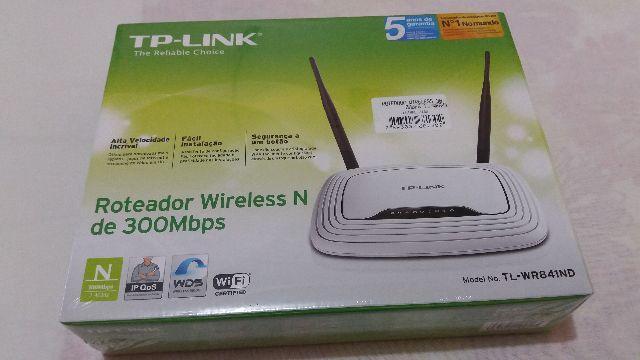 Roteador Wireless N 300Mbps TL-WR841ND