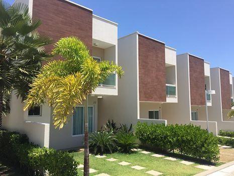 Casa em Condomínio no Eusébio Nova-111m2-3 Suítes-2 Vagas-Lazer Completo-Financiamos