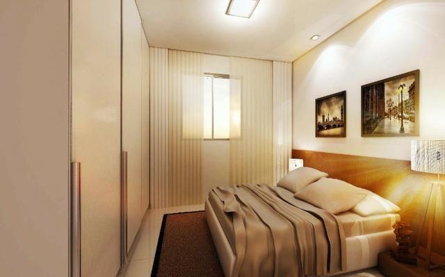 Apartamento 2/4 com suíte - Entrada Facilitada - 1 minuto da FTC - Bairro SIM - Foto 3