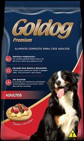 Ração Coldog Premium. *Chips* Adulto 25kg * Avista - Foto 6