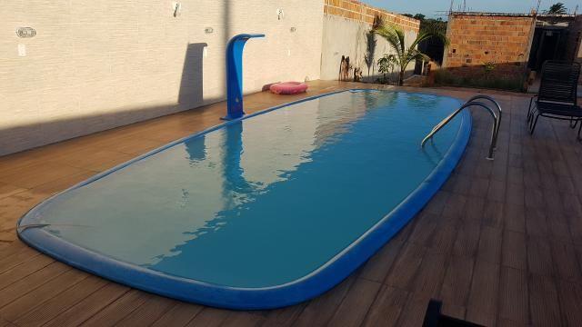 Alugo casa com piscina pra final de semana, em barra do Jacuípe, em condomínio fechado - Foto 3