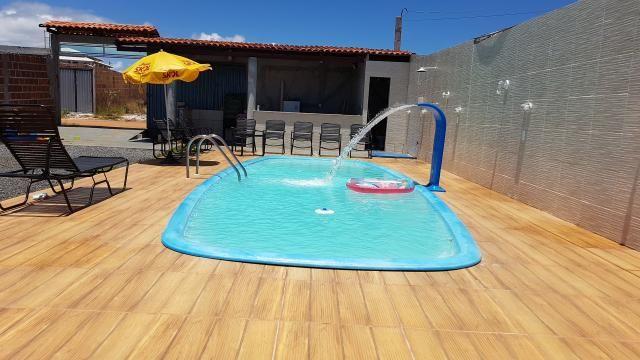 Alugo casa com piscina pra final de semana, em barra do Jacuípe, em condomínio fechado - Foto 12