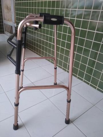 Andador Articulado Mercur de Alumínio, Dobrável, Cor Bronze - Foto 3