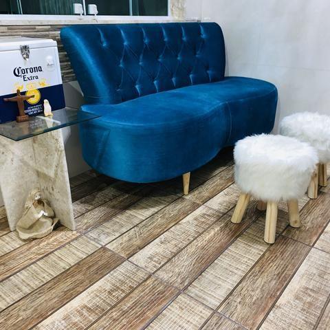 Sofá de Luxo Tok Stok de 2.499,90 Por 1.300,00 - Foto 4