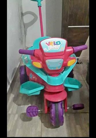 Velo baby,vira triciclo