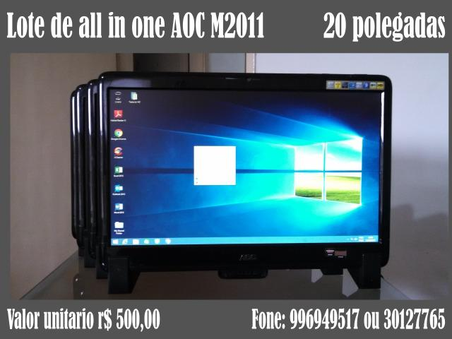 Lote de all in one AOC M2011