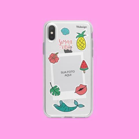 Case de celular - Vibes Verão