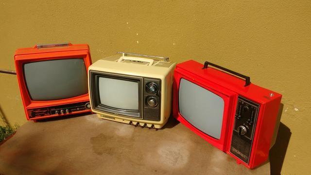 Tvs antigas para decoracao - Foto 2