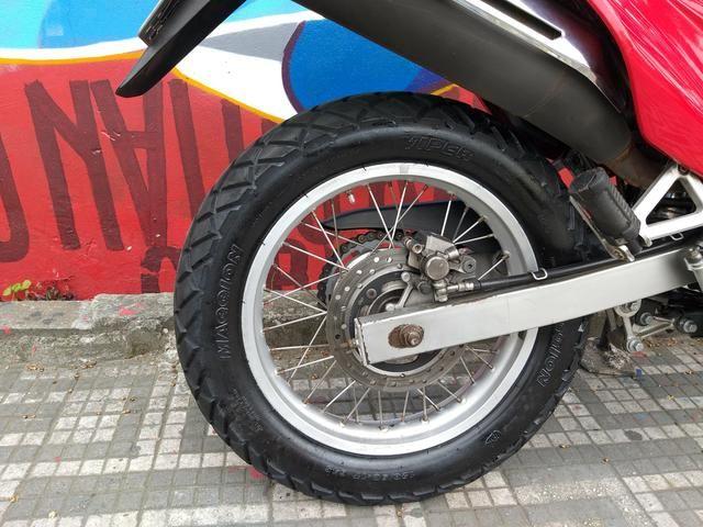 Honda nx4 falcon 2005 troco por moto de menor cilindrada - Foto 5