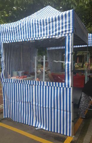 Tendas Sanfonadas 2x2 Balcao em pvc - Foto 3