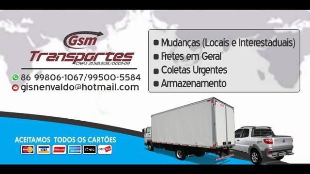Fretes Mudancas Viagens GSM - Foto 2
