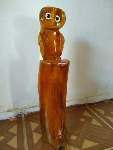 Obra de arte em madeira - Foto 3