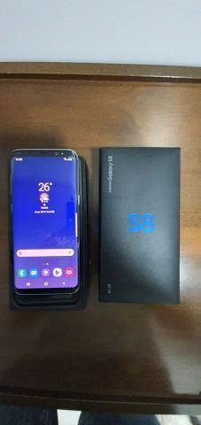 "Smartphone Samsung Galaxy S8 Dual Chip Android 9.0 Pie - Tela 5.8"" Câmera 12MP - Prateado - Foto 3"
