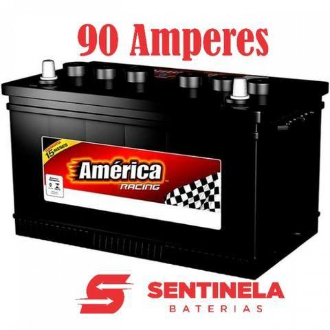 Bateria America 90 Amperes 2º linha Heliar com 15 meses de garantia
