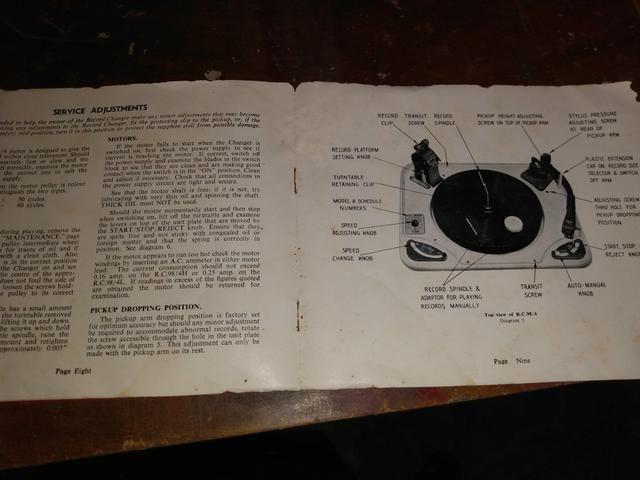 Antigo Rádio vitrola Telespark! - Foto 6