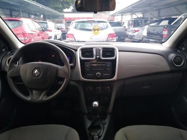 Renault Logan Expression 1.6 - completo, carro impecável, vale a pena conferir! - Foto 10