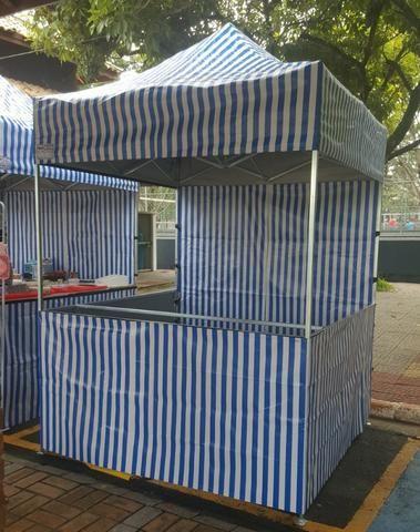 Tendas Sanfonadas 2x2 Balcao em pvc - Foto 2