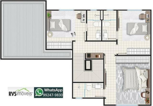 Casa em condomínio 3 quartos 3 suítes, 134m2, lançamento, entrada facilitada! - Foto 14