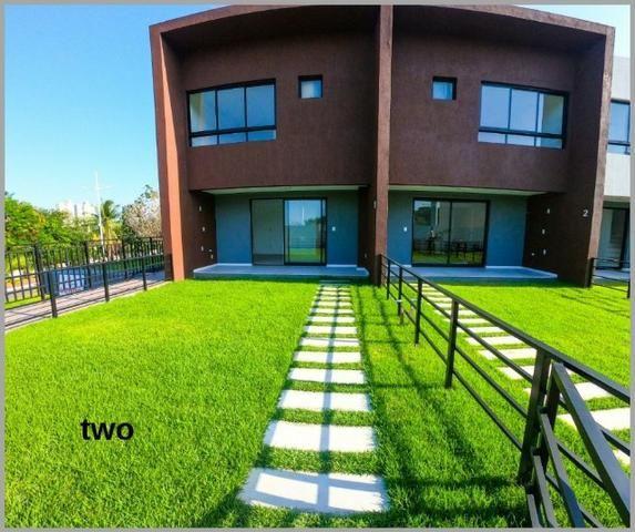 Bela Casa em condomínio 3 quartos com suíte em Patamares área total de 129m²/ two