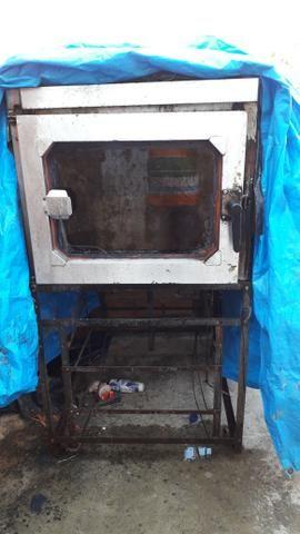 Vendo esse forno eletrico 5 telas valor 1.000 reais - Foto 3