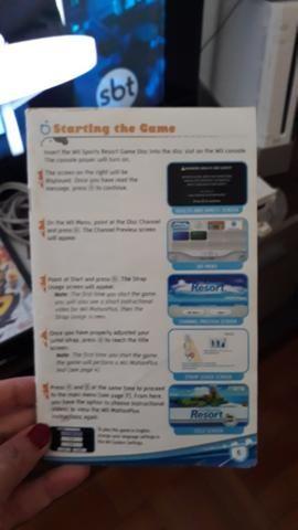 Game Wii desbloqueado com manual e 4 controles jogos por 400 - Foto 5