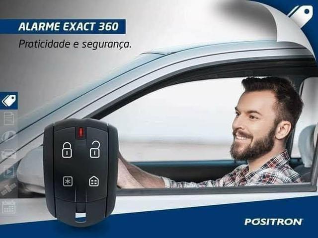 Alarme automotivo colocado na promoção peças e serviços