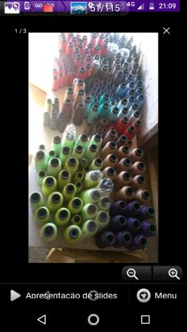 100 tudo Vendo lote de linhas surtidas uns 200 cones no total