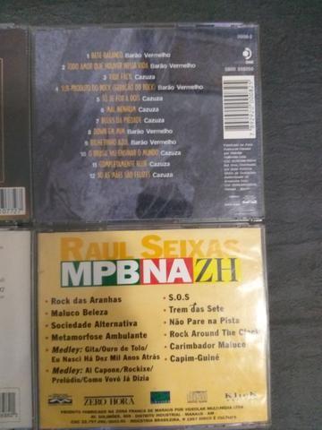 CD do Cazuza, Gal Costa Acústico, Raul Seixas e Roupa Nova - Foto 3