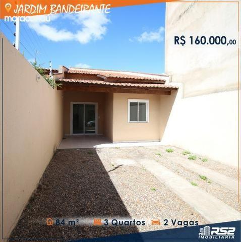 Casa Plana de 3 Quartos - Jardim Bandeirante - Documentos Inclusos - Foto 2
