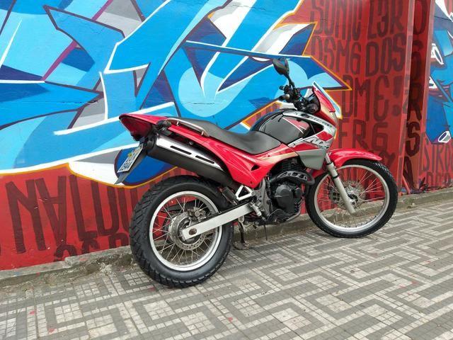 Honda nx4 falcon 2005 troco por moto de menor cilindrada - Foto 6