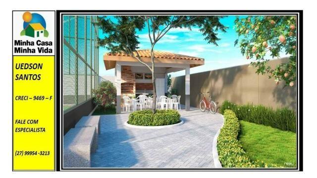 UED-19 - Apartamento 2 quartos vista da reserva - Foto 8