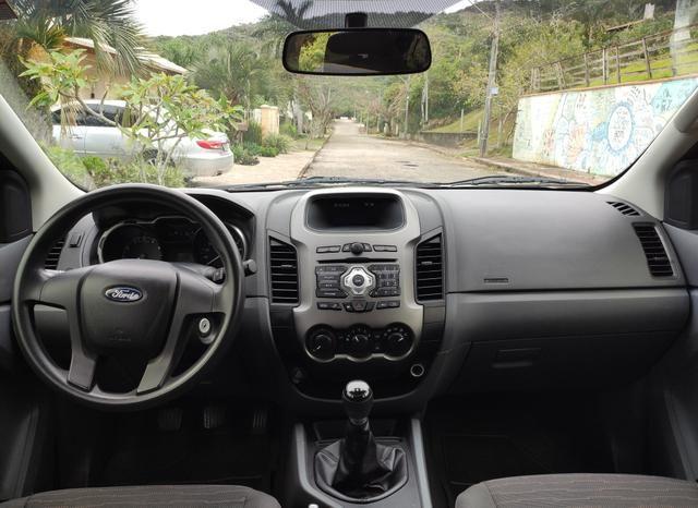 Ford Ranger XLS CD Cabine dupla 2014 Impecável - Foto 7