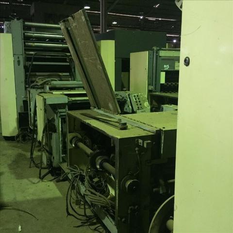 Máquina Automática p/ Fabricação de Formulário Contínuo - #2636