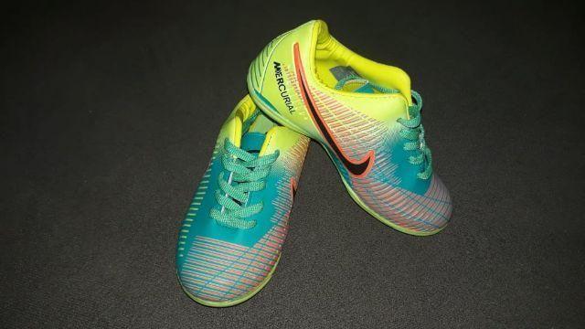 Chuteira Society Nike Mercurial Infantil - N° 27 - Artigos infantis ... ddf5d4a4287b3