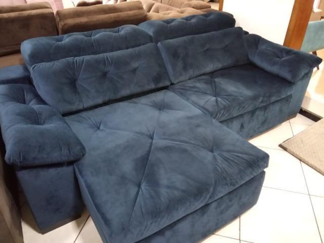 Sofá retrátil e reclinável 2,60 - Foto 3